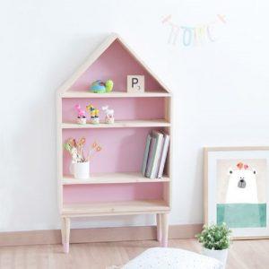 6 Desain Rak Buku Untuk Kamar Anak