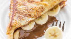 Roti pisang coklat menu praktis untuk sahur (Foto: Pixabay)