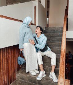Mix & Match Outfit Bumil ala Dinda Hauw