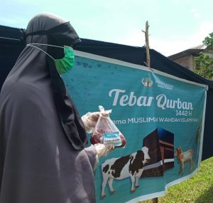 MWW Sulsel jadikan Idul Adha Momentum Berbagi