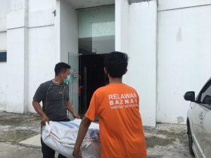 BAZNAS Salurkan Bantuan Logistik untuk Pasien Isolasi Covid-19 di Jakarta